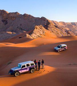 Desert Tour Vehicle Permits